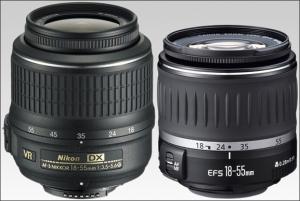Nikon-Canon-18-55mm