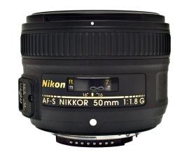 Lente Nikon 50mm F/1.8