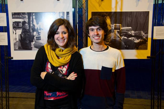 Catarina Fernandes e João Porfírio. | Foto: Reprodução